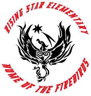 Rising Star Elementary logo Home of the Firebirds